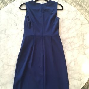 Dkny Dresses - DKNY Dark Blue Dress with Gold Buttons